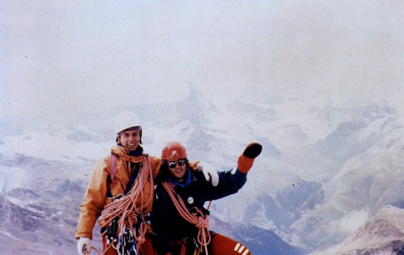 Έτσι ανέβηκαν 1.200 μέτρα κάθετου πάγου και βράχου