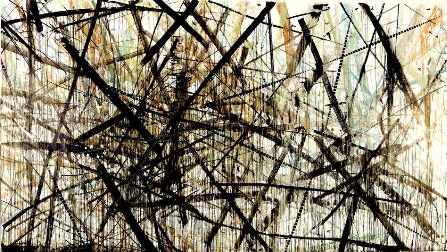 ΦΑΝΤΑΣΙΑΚΗ ΜΕΓΑΛΟΥΠΟΛΗ ΙΙΙ 300εκ επί 500εκ Μελάνι σε αδιάβροχο χαρτί 2009