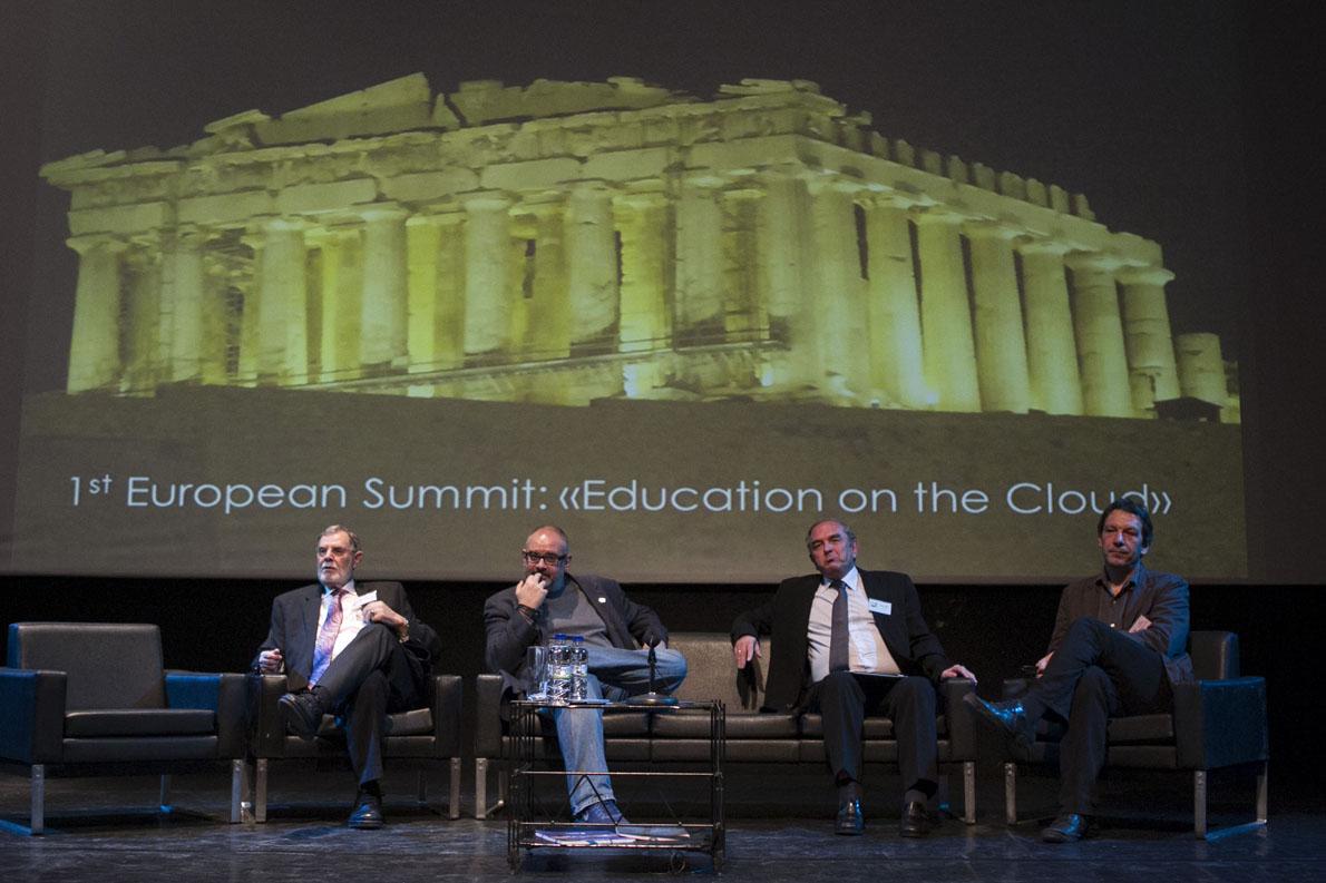 Aπό την πρώτη την πρώτη διεθνή συνάντησή της στην Ελλάδα. Φωτογραφία: schoolonthecloud.eu