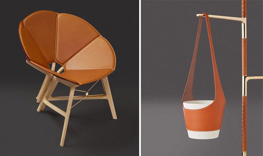 Αιώρες, φωτιστικά, καρέκλες και άλλα αντικείμενα της σειράς Objects Nomads τoυ οίκου Louis Vuitton θα λάβουν θέση στο Salone del Mobile, την εμβληματική έκθεση διακόσμησης και desing, που γίνεται κάθε χρόνο στο Μιλάνο (φέτος 15-17 Απριλίου στο Palazzo Bocconi).