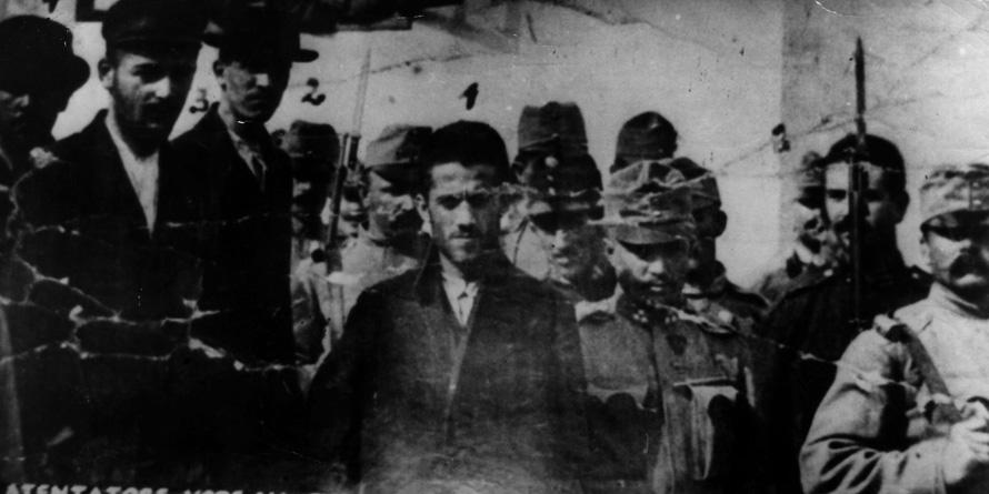 Η εκπυρσοκρότηση του πιστολιού του Σέρβου εθνικιστή Γκαβρίλο Πρίντσιπ πυροδότησε ταυτόχρονα τον Α' Παγκόσμιο Πόλεμο.