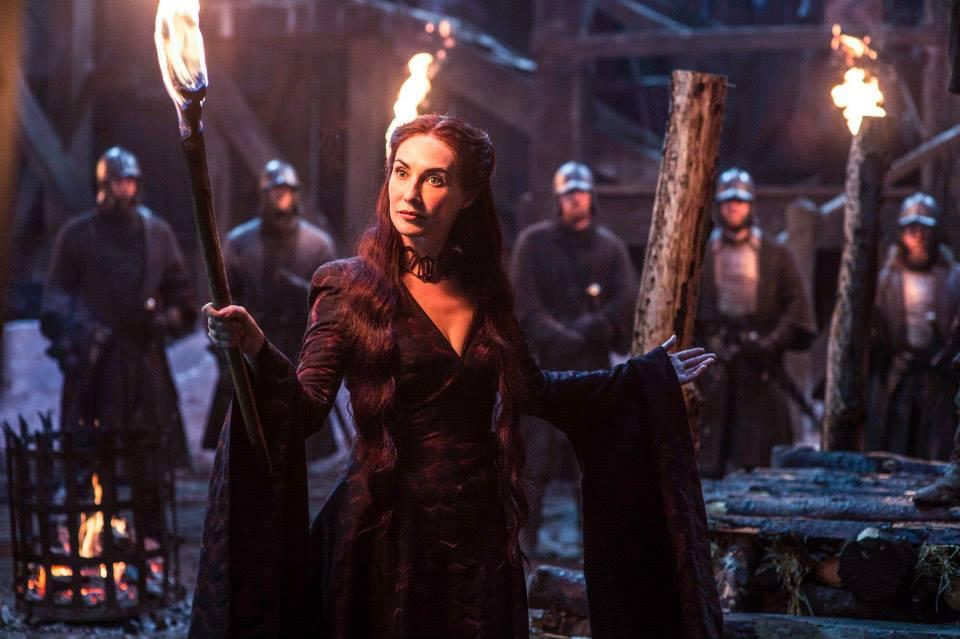 Η Καρίς βαν Χούτεν στο ρόλο της Μελισσάνδρης.