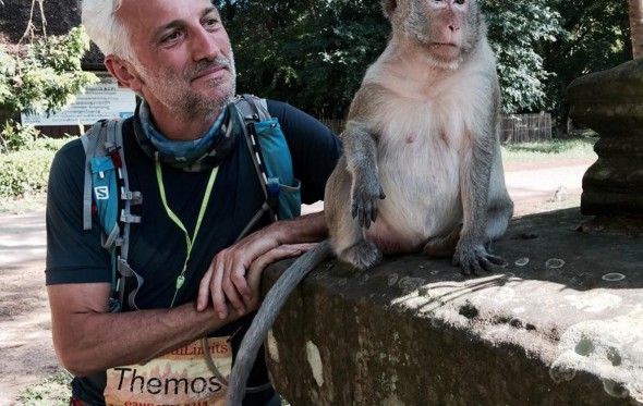 Θέμος Σγούρας: Στο Μαραθώνιο της Καμπότζης, για την MDA Ελλάς