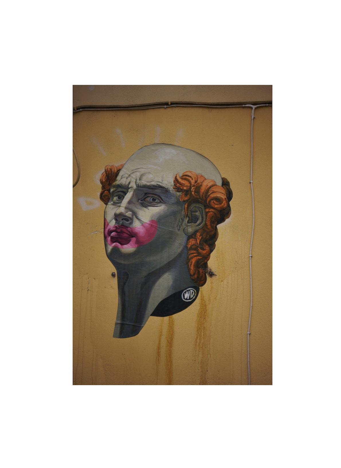 Ψυρρή Writer: WD (Wild Drawing) David the Clown, ένα από τα πιο έξυπνα poster του Καλλιτέχνη