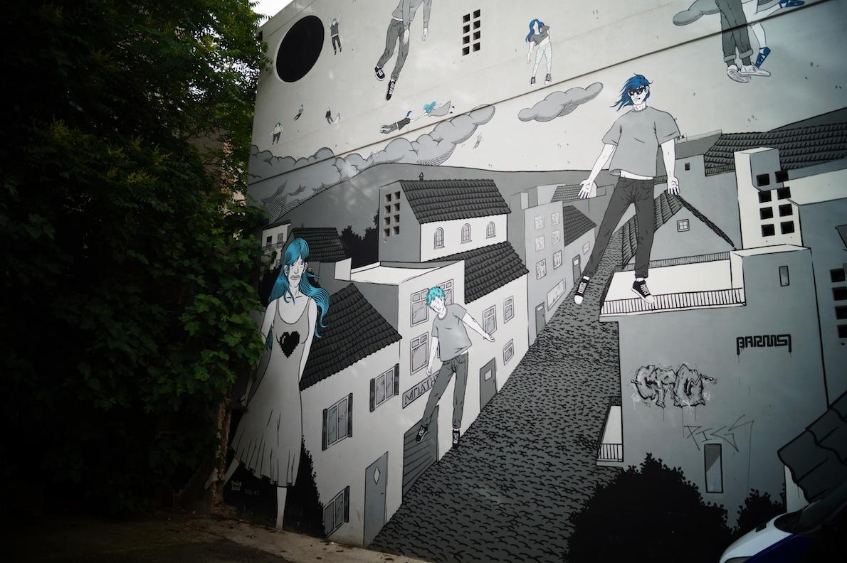 Ψυρρή Writer: Taxis Ένας από τους σπουδαιότερους της Δημόσιας τέχνης στη Ελλάδα. Το έργο είναι ένα από τα projects της ομάδας Carpe Diem.
