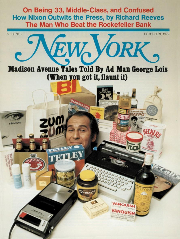 Ένα από τα πιο χαρακτηριστικά του εξώφυλλα για το αμερικανικό περιοδικό New York.