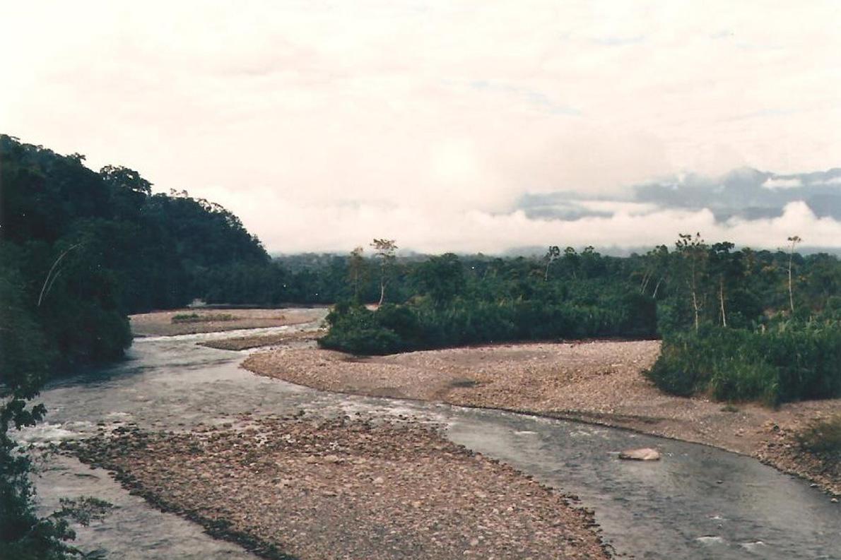 """""""Τοπίο κοντά στην Shintuya"""". Φωτο Κ.Γκόφας 1988"""