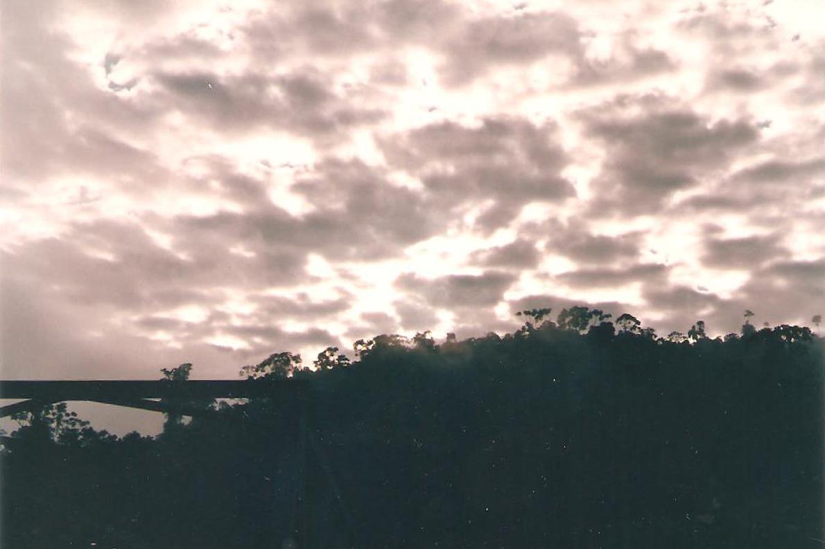 """""""Γέφυρα κοντά στην Shintuya¨. Φωτο Κ.Γκόφας 1988"""