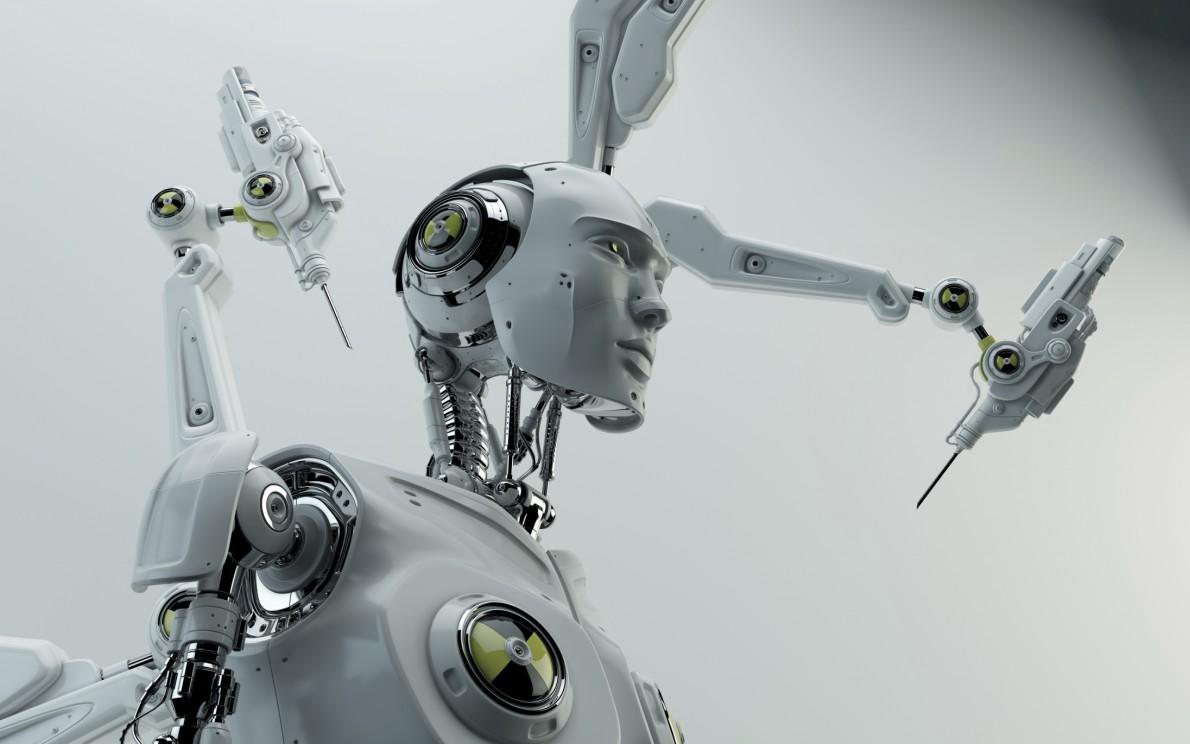 O καθηγητής ρομποτικής του Πανεπιστημίου Carnegie Mellon, Xανς Mόραβετς, θεωρεί τα cyborgs μέρος του μεγάλου και αιωνίου σχεδίου της εξέλιξης. Σύμφωνα με αυτή τη θεωρία, τα cyborgs είναι στην ουσία ένα «μεταβατικό» είδος προτού ο άνθρωπος προχωρήσει σε μια φάση πλήρους αποβιολογοποίησής του.