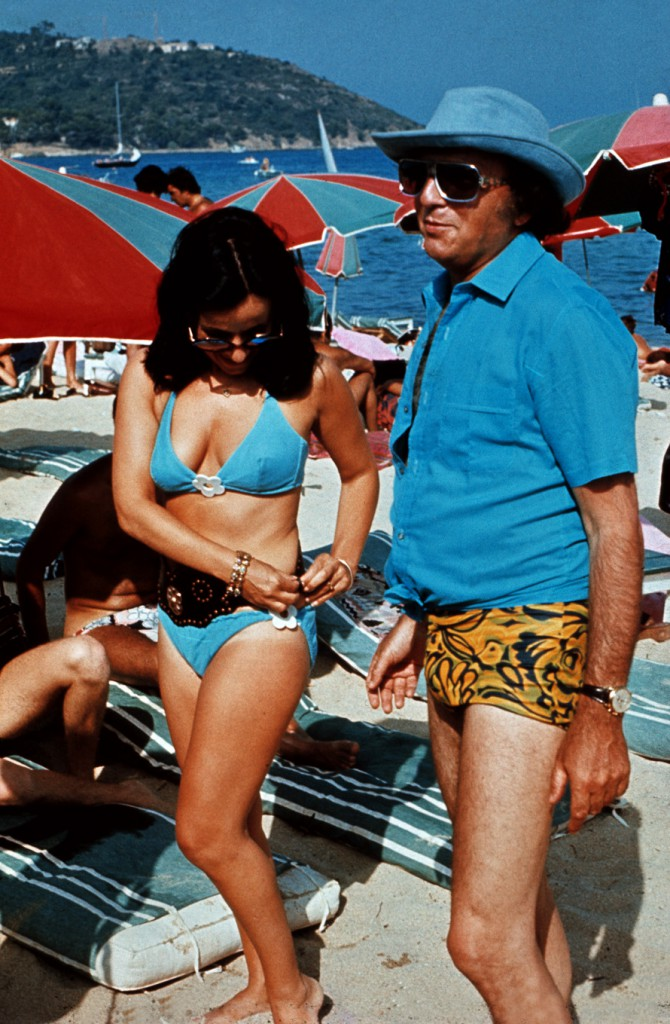 Harold Robbins and Grace Palermo