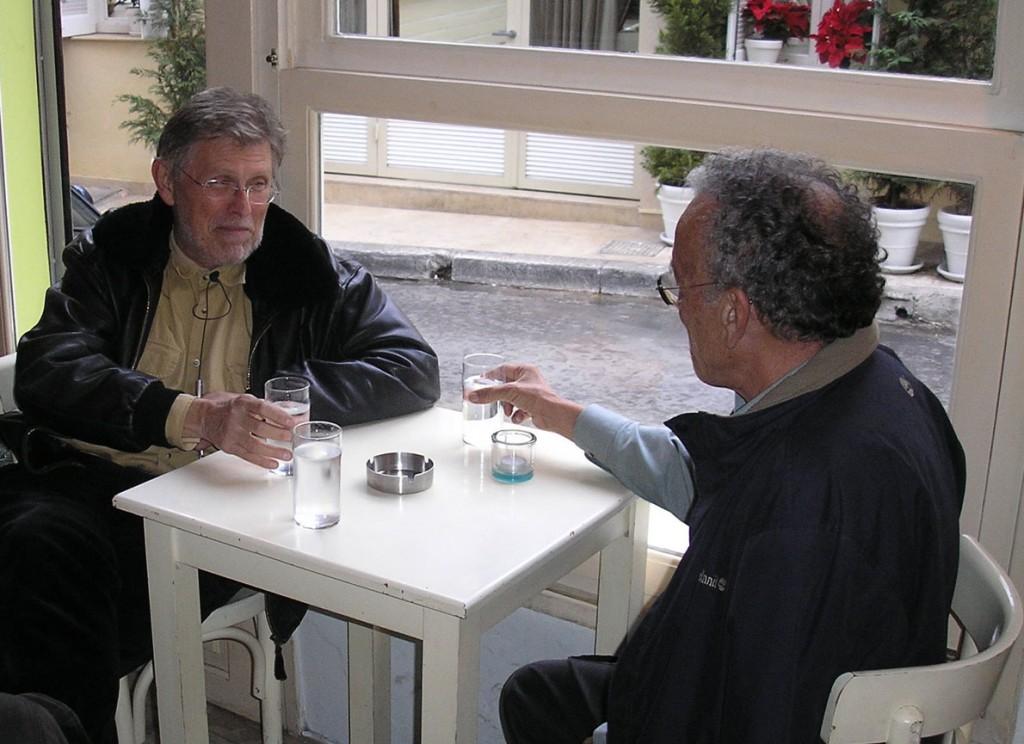 Νίκος Περάκης, Γιώργος Πανουσόπουλος (φωτογραφία Σωτήρης Κακίσης).