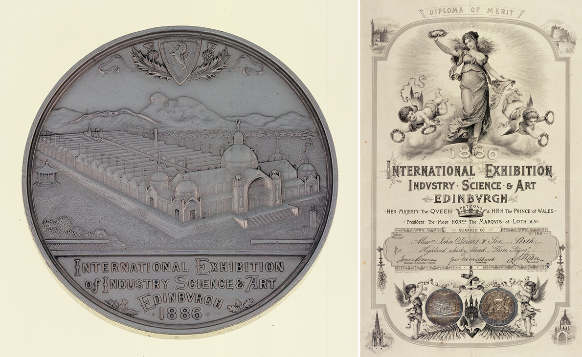 1886_Medal-and-certificate