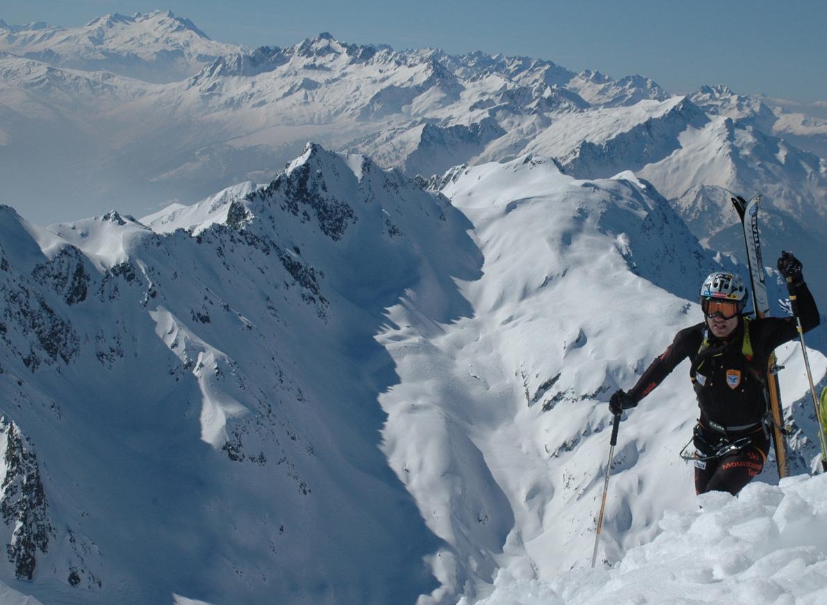 Στο Pierra Menta το 2010, λίγο πριν βγω στην κορυφή Grand Mont σημείο του αγώνα όπου σε περιμένει ένα διάδρομος χιλιάδων θεατών έχοντας ανέβει εκεί από τα ξημερώματα.