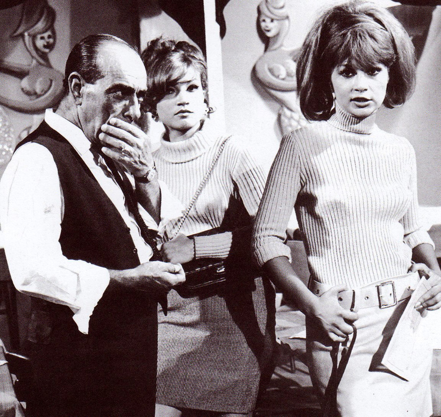 «Καλώς Ήλθε το Δολλάριο» του Αλέκου Σακελλάριου, 1967. Με τη Σάσα Καστούρα και τη Νίκη Λινάρδου.