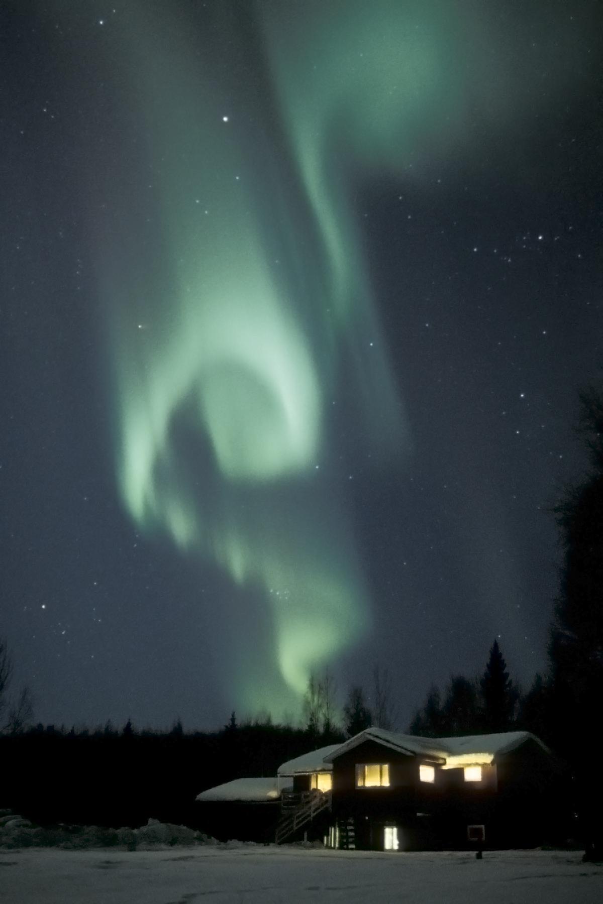 2000 Μάρτιος. Βόρειο Σέλας. Αλάσκα