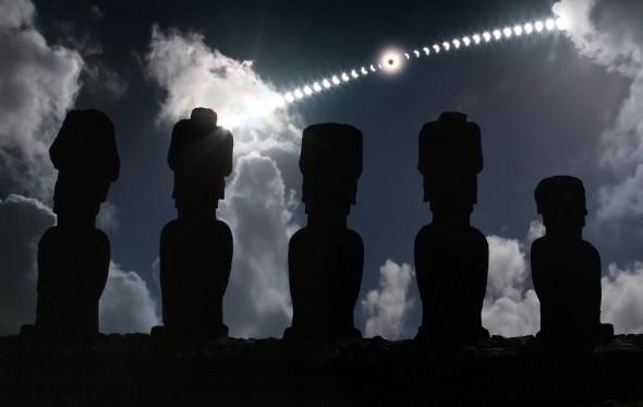 «Πώς κόλλησα με τις εκλείψεις ηλίου»