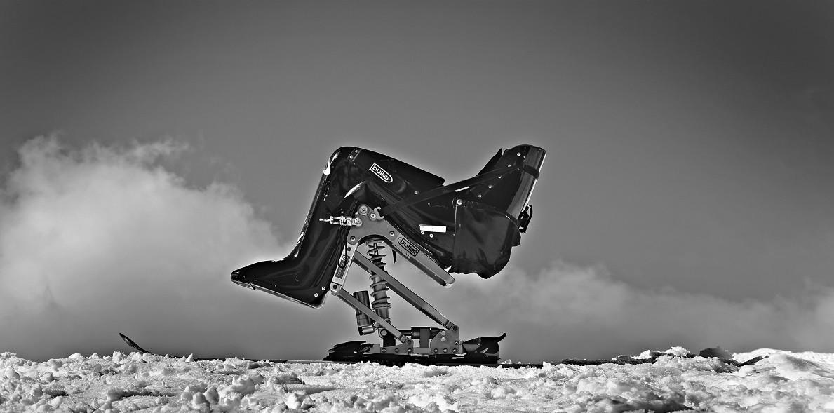 Sit ski.