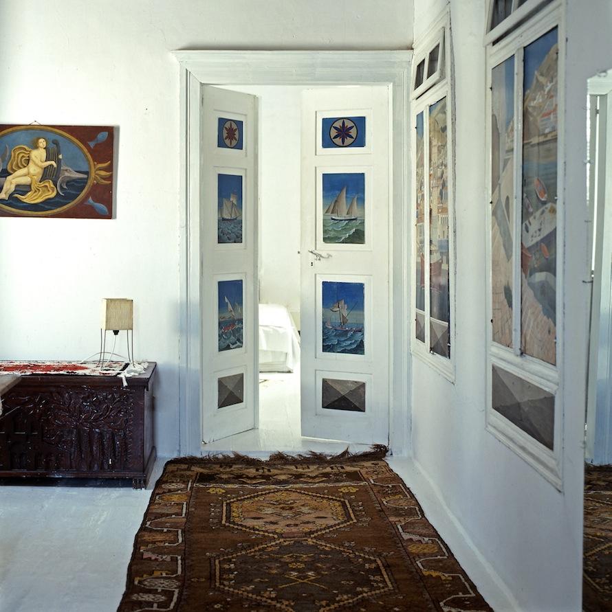 Ο Κοέν αγόρασε το σπίτι της Ύδρας το φθινόπωρο του 1960 προς 1500 δολάρια. Ήταν το πρώτο σπίτι που αγόρασε ποτέ. Φωτο: Κώστας Πηγαδάς