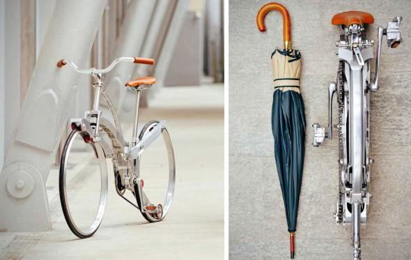 «Sada bike», το πιο ντιζαϊνάτο αναδιπλούμενο ποδήλατο σε μέγεθος ομπρέλας
