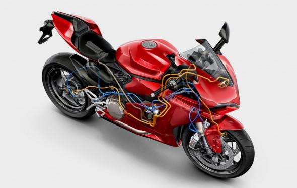 Με το νέο σύστημα σταθεροποίησης των Ducati, και να θέλεις δεν πέφτεις