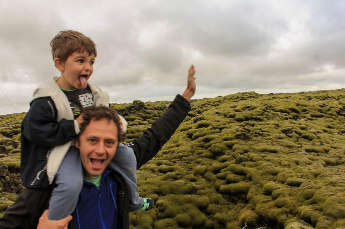 (Στη φωτογραφία Iceland Jul 2014- 3,5 years old)