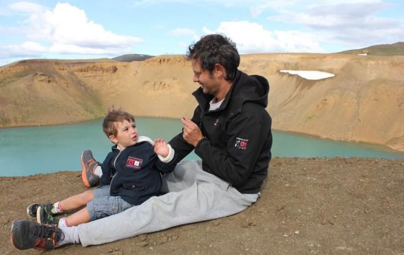 Θοδωρής Αναγνωστόπουλος: Ταξιδεύοντας στον κόσμο με τον γιο μου