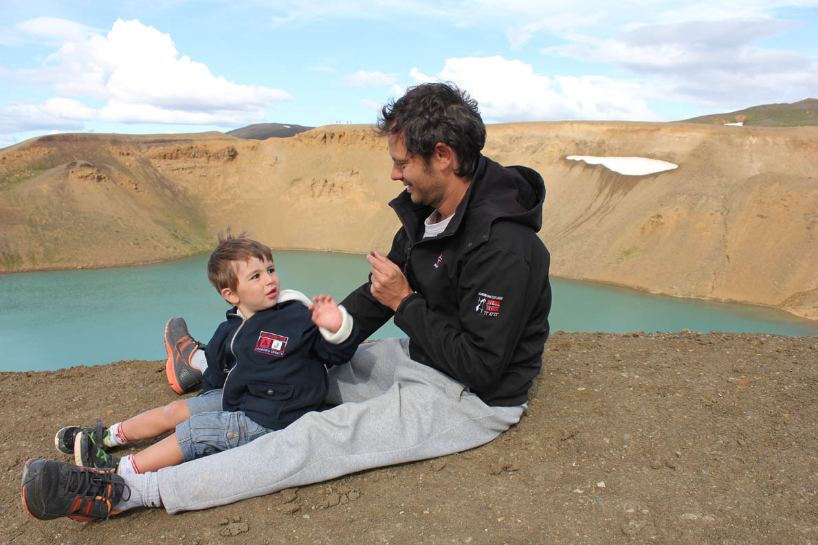 Iceland July 2014 - 4 years old