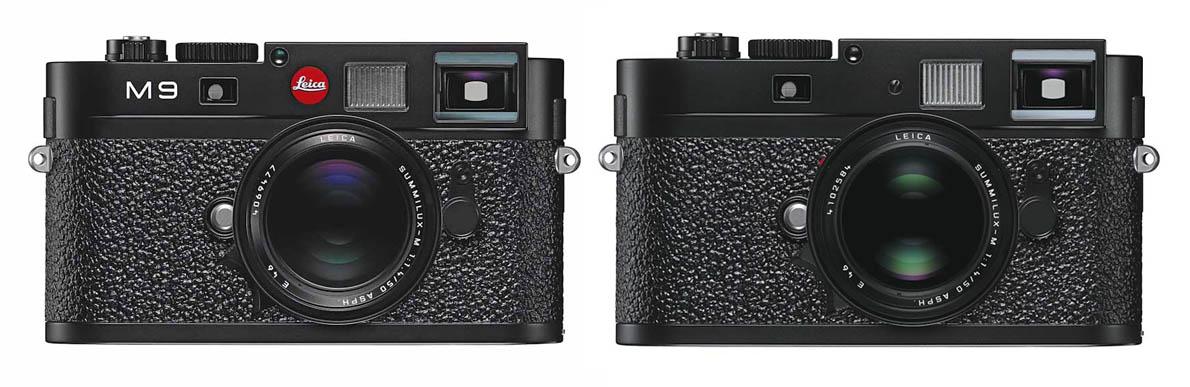 Leica M9, 2009. Leica M9-P, 2009.