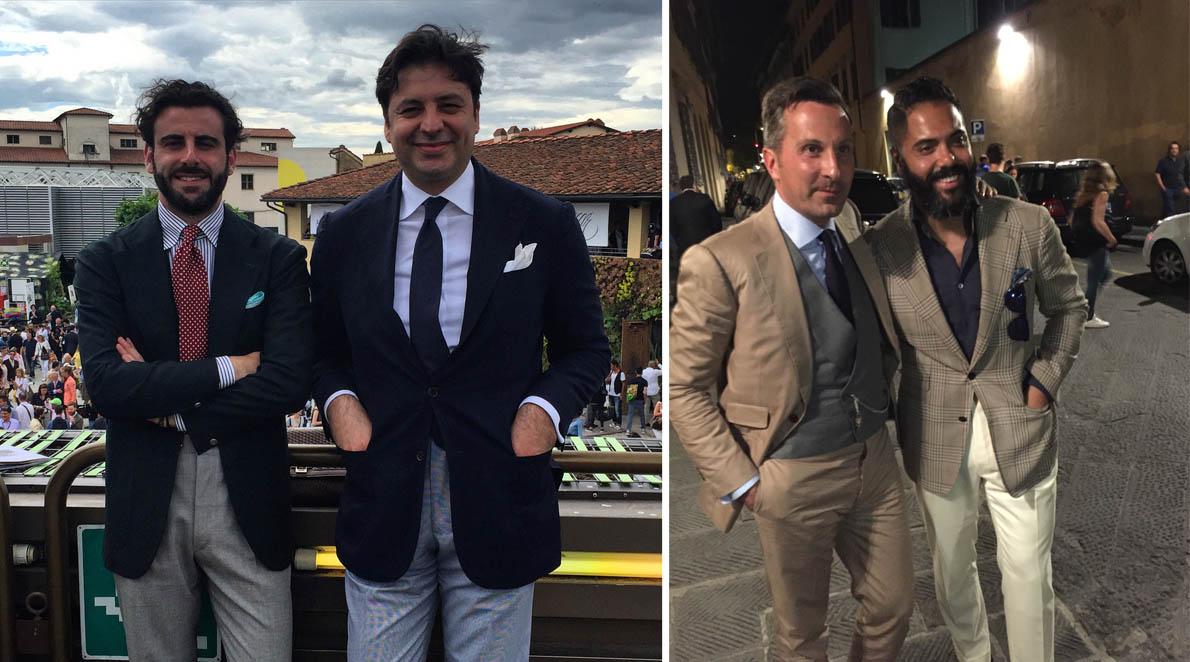 Με το Gennaro Annunziata, 8 Ιούλιου και στην Αθήνα, στο Bespoke Athens. Alexander Kraft (ambassador για την Cifonelli & Sotheby's International Realty France CEO) με τον Angel Bespoke (Stylist-Made to Measure) από την Νέα Υόρκη.
