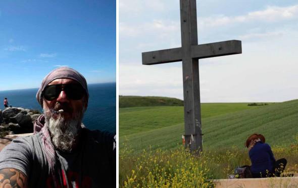 855 χιλιόμετρα, 35 μέρες με τα πόδια, εκατοντάδες φωτογραφίες, ένα προσκύνημα
