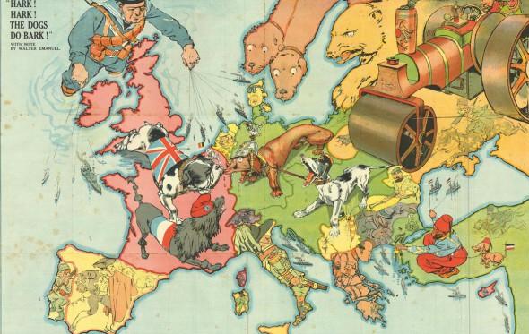 Ο χάρτης της Ευρώπης ως διαδρομή ενηλικίωσης