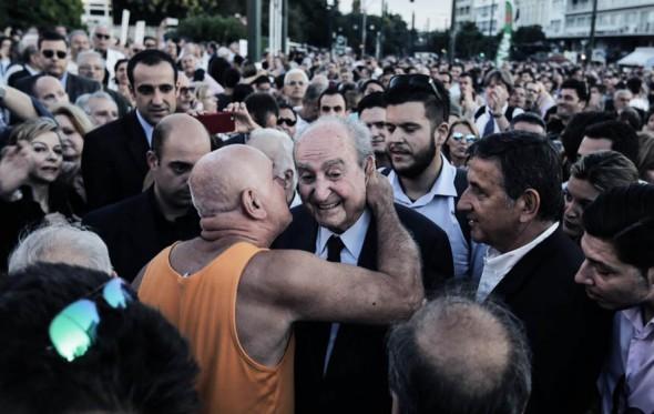 Ίσως η διαδήλωση «Μένουμε Ευρώπη» να μην ήταν και τόσο αντικυβερνητική τελικά