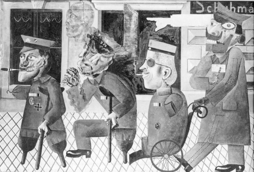 Ένα από τα έργα της έκθεσης «Εκφυλισμένη Τέχνη». Είχε κατασχεθεί και τελικά καταστραφεί από τους ναζί επειδή ήταν «παρακμιακή έκφραση ανώμαλων υπανθρώπων, μολυσματική έκφανση του πολιτισμικού μπολσεβικισμού, βλαβερή μη-τέχνη».