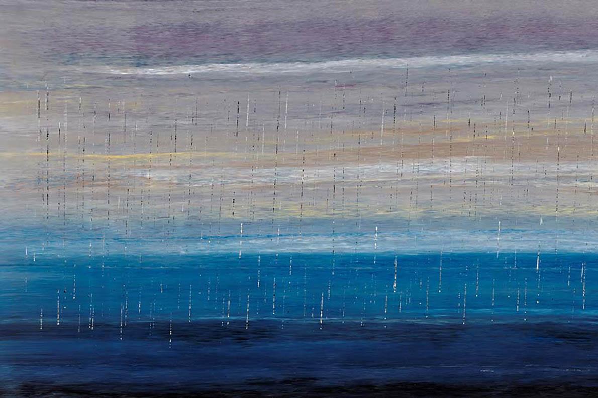 «Γίνε κι εσύ / Η θάλασσα / Που πίνει τη βροχή» (Rosella Namok, «Stinging Rain»)