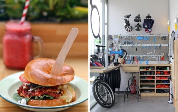 Coffee Bike: Δίτροχο και gluten free