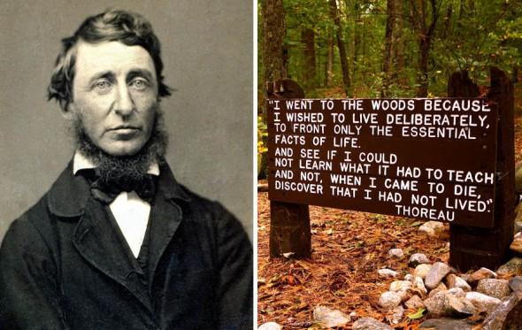 Θορώ: «Γιατί πήγα να ζήσω σε μια καλύβα στο δάσος»