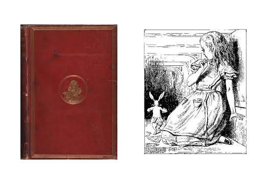 Το πρώτο βιβλίο του Lewis Carroll (1865)- Illustration John Tenniels