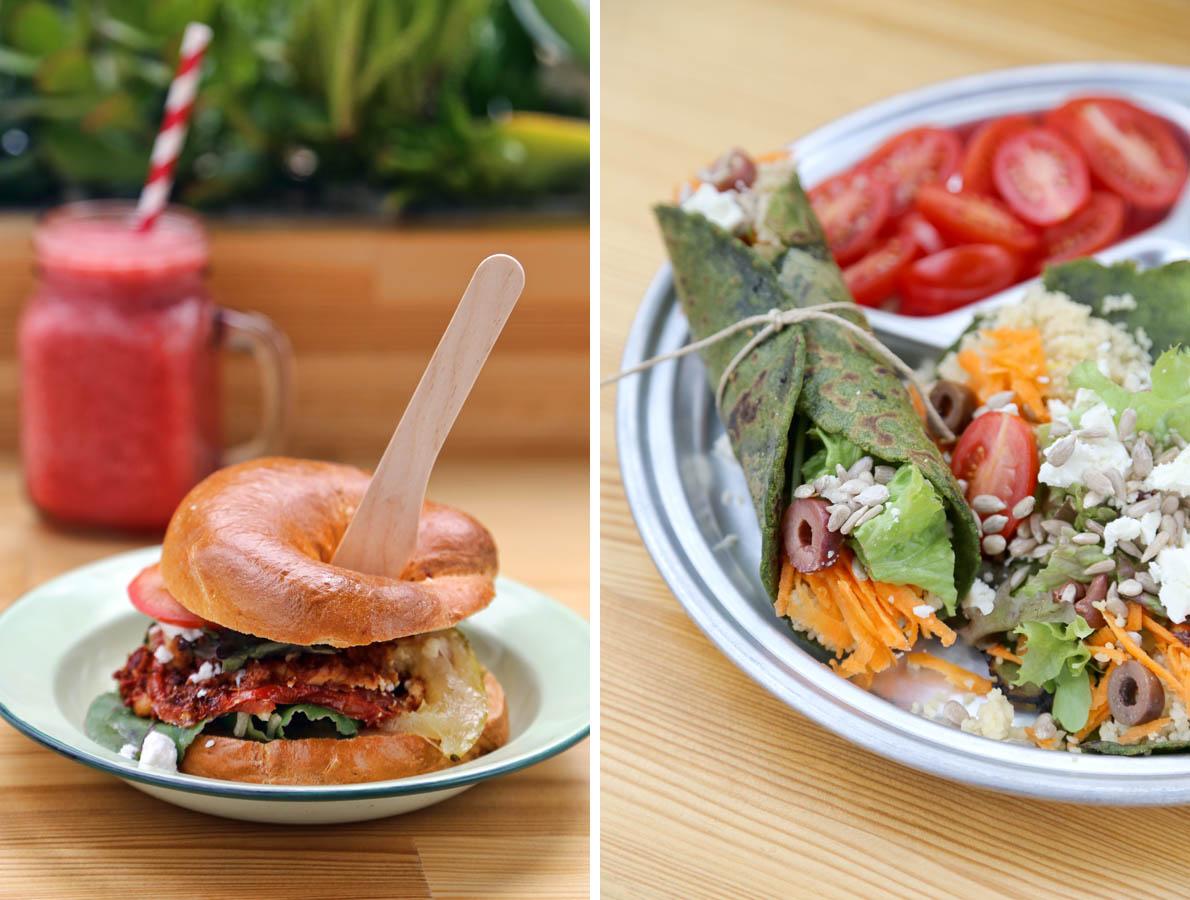 Νόστιμες και ενδιαφέρουσες δημιουργίες που βασίζονται μόνο σε λαχανικά και φρούτα. Τέτοιες θα βρεις στον κατάλογο του Coffeebike.