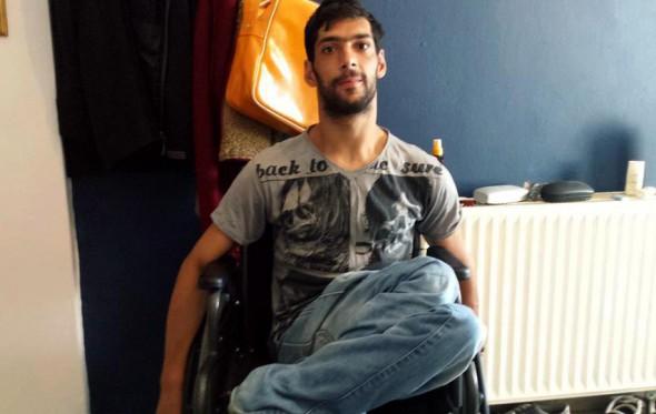 H ιστορία του Χαλντούν, ενός ανάπηρου Σύριου πρόσφυγα στην Ελλάδα
