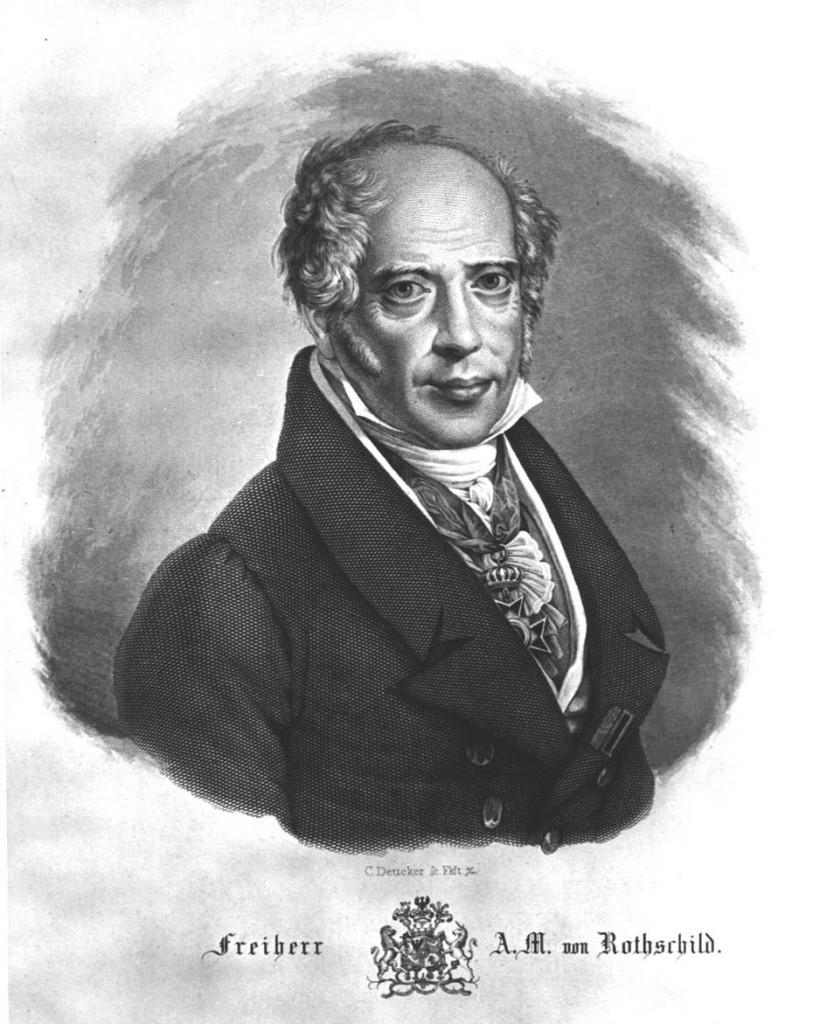 1-R806-C1850 A.M.Rothschild / Stahlst.v.Deucker Rothschild, Amschel Mayer Frankfurter Bankier, 12.6.1773 - 6.12.1855. - 'Freiherr A.M. von Rothschild'. - Stahlstich, um 1850, von Karl Deucker (1801-1863). E: A.M.Rothschild / copper eng. by Deucker Rothschild, Amschel Mayer Frankfurt Banker, 12.6.1773 - 6.12.1855. - 'Freiherr A.M. von Rothschild'. - Copper engraving c.1850, by Karl Deucker (1801-1863). F: A.M. Rothschild/ Gravure s/acier Deucker Rothschild, Amschel Mayer banquier de Francfort , 12.6.1773 - 6.12.1855. - 'Le Baron A.M. von Rothschild'. - Gravure sur acier, vers 1850, de Karl Deucker (1801-1863).
