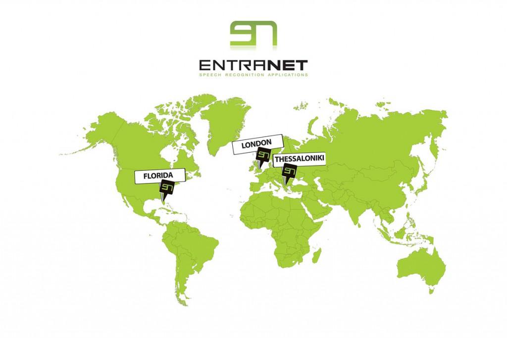 ENTRANET map
