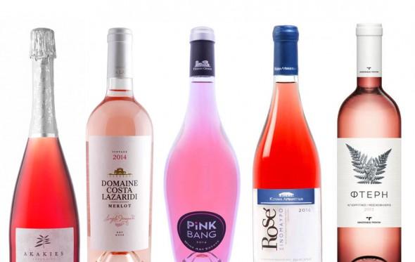 Top 5 ροζέ από τον ελληνικό αμπελώνα