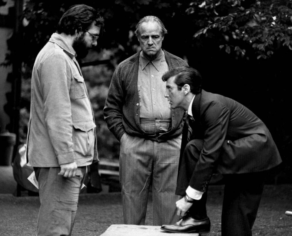 """""""The Godfather"""" Francis Ford Coppola, Marlon Brando, Al Pacino Paramount, 1972 ** I.V."""