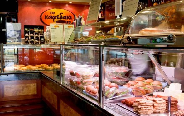 Στο «Καφεδάκι» –στα Ιλίσια, στην Παπαδιαμαντοπούλου…