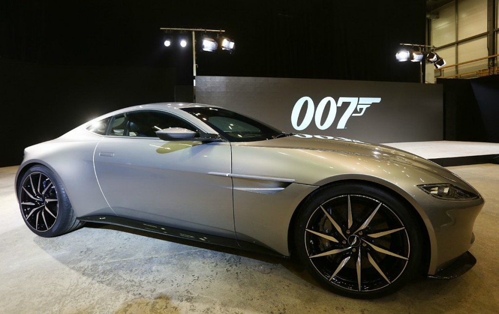 James Bond 'Spectre' film photocall Featuring: Aston Martin DB10 Where: London, United Kingdom When: 04 Dec 2014 Credit: Lexi Jones/WENN.com