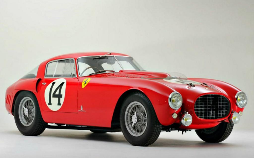 10. 1953 Ferrari 340375 MM Berlinetta Competizione