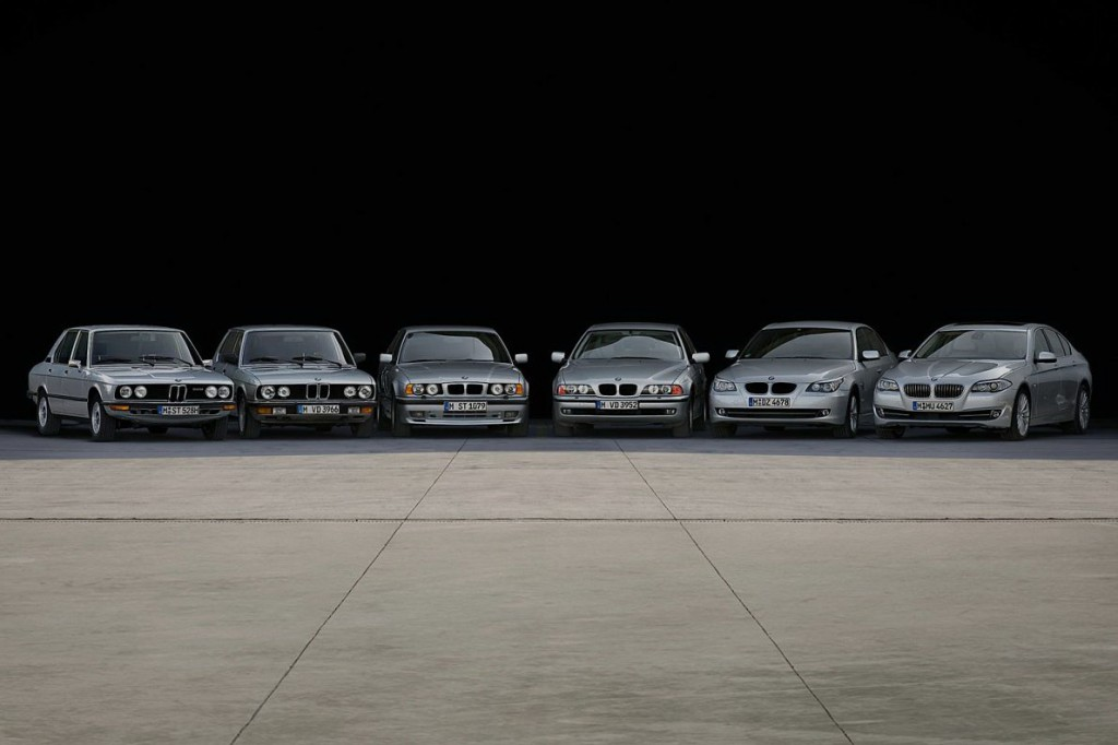 BMW 5 six generations