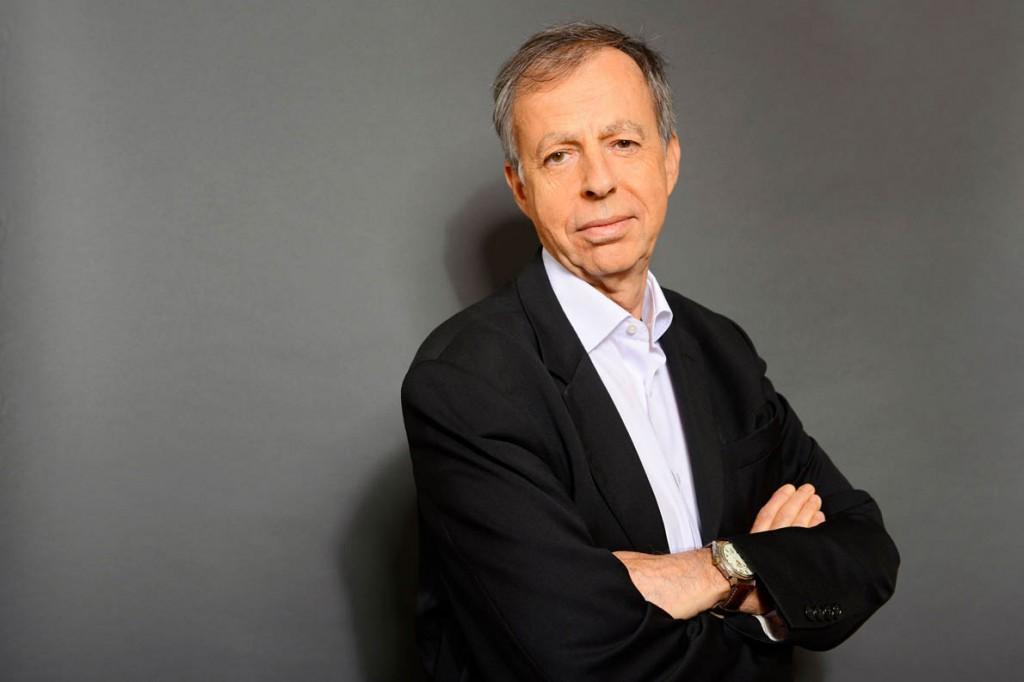 Bernard Maris, economiste, ecrivain et journaliste francais. Chaque vendredi en deuxieme partie de soiree, Frederic Taddei recoit les personnalites qui font l'actualite. Paris,FRANCE-le 07/11/14/BALTEL_0920025/Credit:BALTEL/SIPA/1501021024