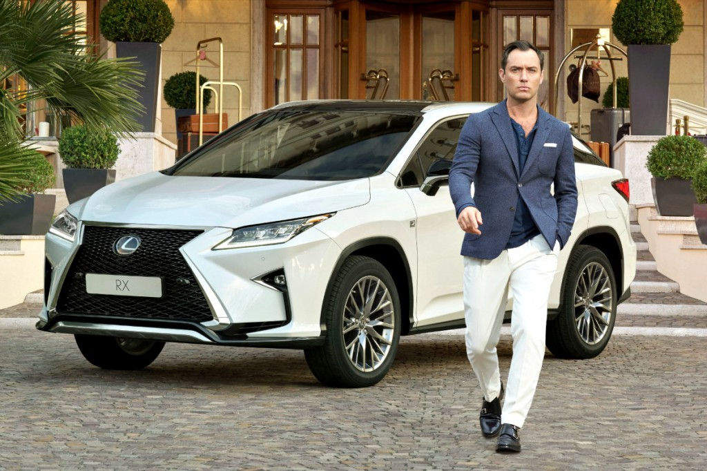 Jude Law creatively partners with Lexus Europe for 'The Life RX' campaign to launch the new Lexus RX