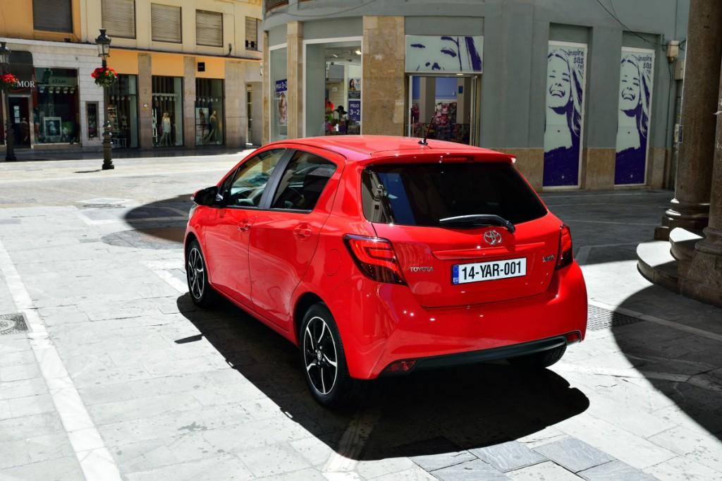 Toyota Yaris rear